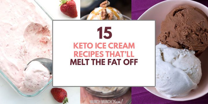 keto ice cream recipes that will melt the fat off atop ice cream collage