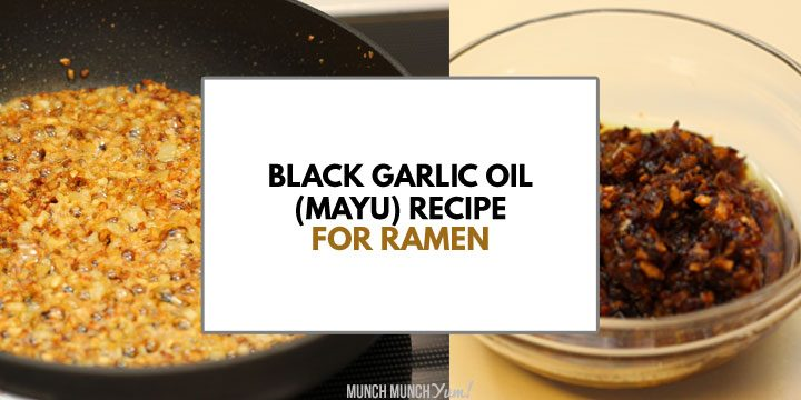 AROMATIC Black Garlic Oil – Mayu for Ramen Recipe