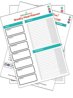 MunchMunchYum free food printables library