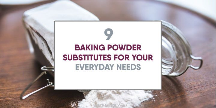 baking powder substitutes for your everyday needs