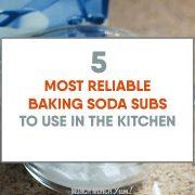 Best Baking Soda Ingredient Substitutions
