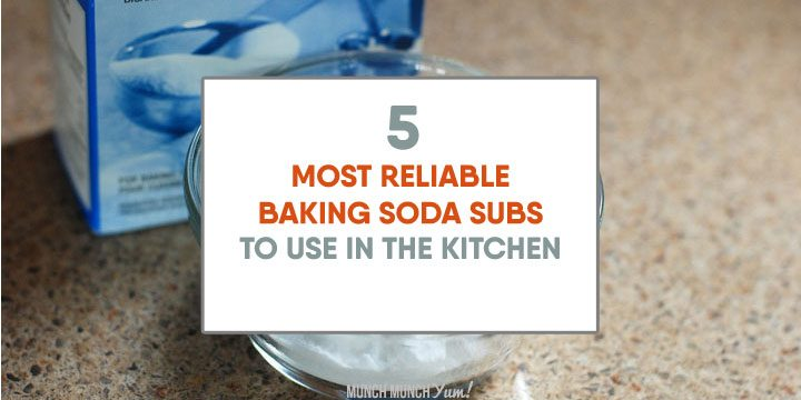 5 TOP Baking Soda Substitutes to Use in the Kitchen