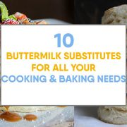 Best Buttermilk Ingredient Substitutions for Baking & Cooking