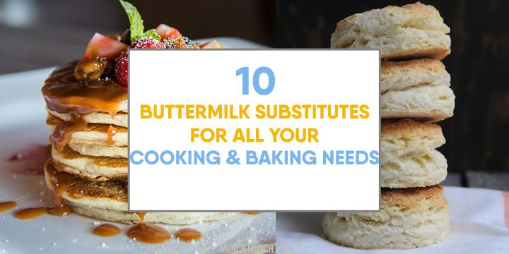 buttermilk substitutes for all your cooking and baking needs