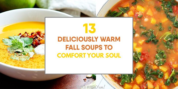 13 Fall Soups: HEALTHY Autumn Vegetable Soup & Recipe Ideas