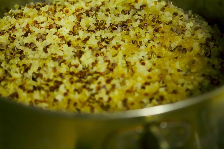 how to cook quinoa on stovetop