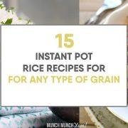 Best Instant Pot Rice Recipes (+ Free Cheat Sheet)