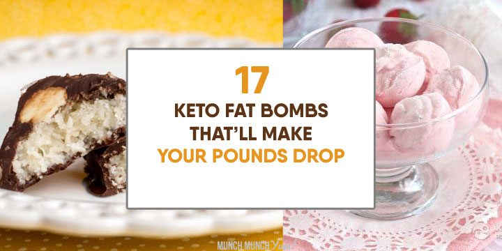 keto fat bombs that'll make your pounds drop atop strawberry and almond joy recipes