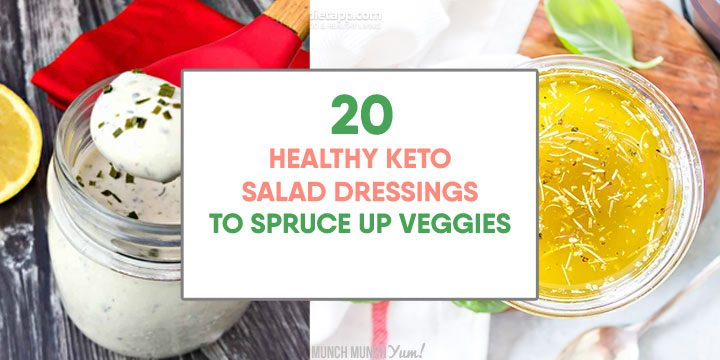 healthy keto salad dressing to spruce up veggies