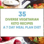 Keto Vegetarian Recipes: An Easy 7-Day Diet Meal Plan