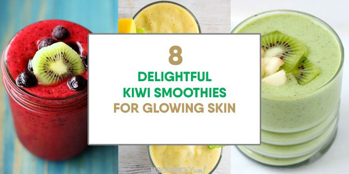 delightful kiwi smoothies for glowing skin