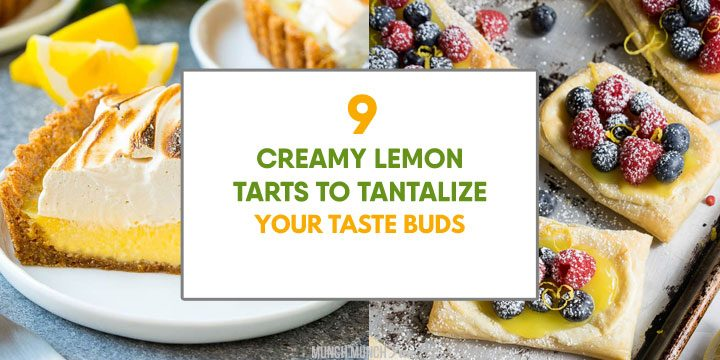 creamy lemon tarts to tantalize your taste buds