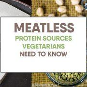 BEST Vegetarian Protein Sources: Breakdown by Food Types
