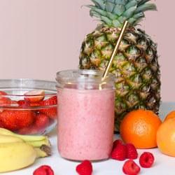 simple pineapple smoothie recipe