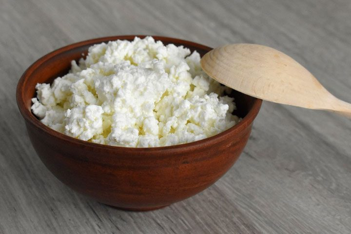 cottage cheese as sour cream substitute.